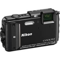 Nikon COOLPIX AW130 Waterproof Digital Camera (Black)