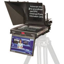"Autoscript E.P.I.C 19"" Dual Monitor Teleprompter System"