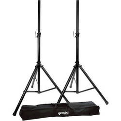 Gemini ST04 Speaker Stands with Bag (Pair)