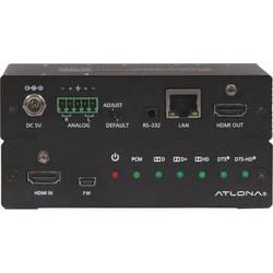 Atlona 4K/UHD HDMI Multi-Channel Digital to Two-Channel Balanced Analog Audio Converter