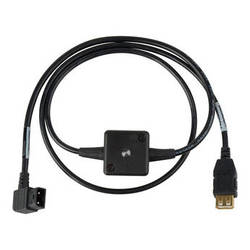 Sescom Anton Bauer/IDX D-Tap 12V to USB 5V Power Converter Cable (3')