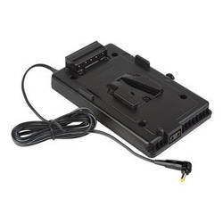 Sescom V-Mount Plate to 0.7mm DC Plug for Blackmagic Pocket Camera