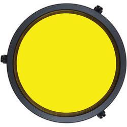 Ikelite Yellow Barrier Filter for Flat DSLR Lens Ports on Underwater Housings