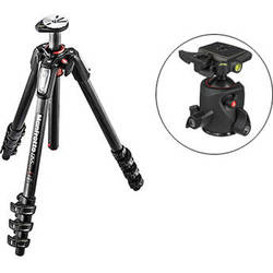 Manfrotto MT055CXPRO4 Carbon Fiber Tripod with 054 Magnesium Ball Head with Q2 Quick Release