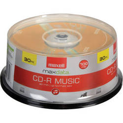 Maxell CD-R 80 Music Gold (30)