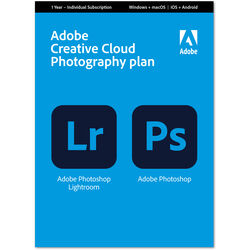 Adobe Creative Cloud Photography Plan (12 Month Subscription, Download Card)