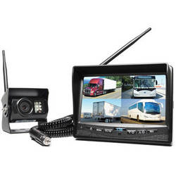 Rear View Safety Digital Wireless Quad Camera System