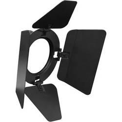Odyssey Innovative Designs 4-Way Barndoors for PAR 16 Aluminum Light Fixture (Black)
