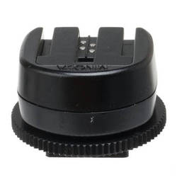 Konica Minolta FS-1200 Flash Shoe Adapter (i Series Flashes to old Type Maxxum Cameras)