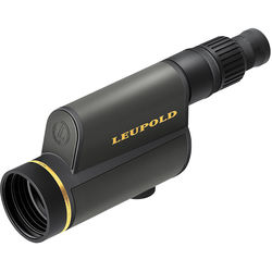 Leupold GR 12-40x60 HD Spotting Scope with Impact Reticle (Straight Viewing, Shadow Gray)
