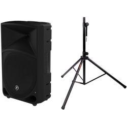"""Mackie Mackie Thump12 12"""" Powered Loudspeaker & Speaker Stand Kit"""