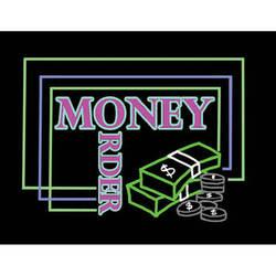"Porta-Trace / Gagne LED Light Panel with Money Order Logo (24 x 36"")"