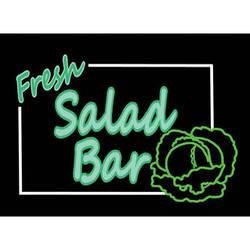"Porta-Trace / Gagne LED Light Panel with Fresh Salad Bar Logo (11 x 18"")"
