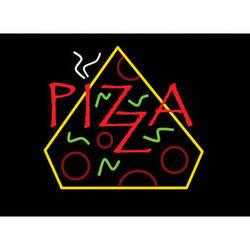 "Porta-Trace / Gagne LED Light Panel with Pizza Logo (16 x 18"")"