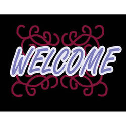 """Porta-Trace / Gagne LED Light Panel with Welcome Logo (24 x 36"""")"""
