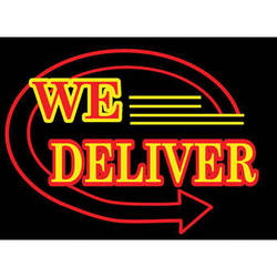 """Porta-Trace / Gagne LED Light Panel with We Deliver Logo (24 x 36"""")"""
