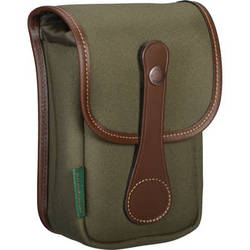 Billingham AVEA 5 Pouch (Sage FibreNyte & Chocolate Leather Trim)