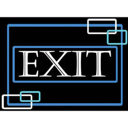 """Porta-Trace / Gagne LED Light Panel with Exit Logo (16 x 18"""")"""