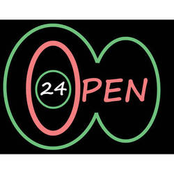 """Porta-Trace / Gagne LED Light Panel with Open 24 Logo (24 x 36"""")"""