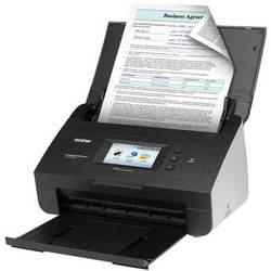 Brother ImageCenter ADS-2500We Document Scanner