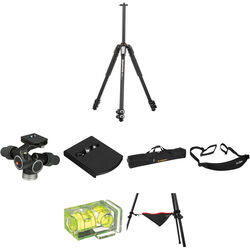 Manfrotto MT055XPRO3 Aluminum Tripod with 405 Pro Digital Geared Head Deluxe Kit