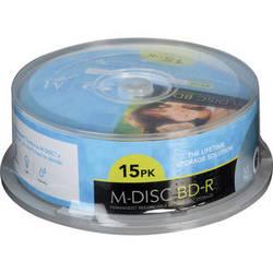 M-DISC  BD-R Discs (15-Pack )