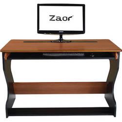 Zaor Miza Jr. Compact Desk (Black/Cherry)