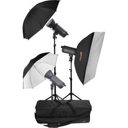 Impact VC-500WL 3-500Ws Monolight with Transmitter Kit