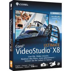 Corel VideoStudio Pro Ultimate X8 (Boxed)