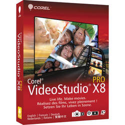 Corel VideoStudio Pro X8 (Boxed)