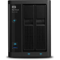 WD My Cloud Business Series DL2100 4TB 2-Bay NAS Server (2 x 2TB)