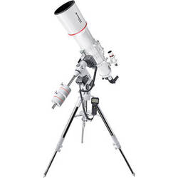 "BRESSER AR-152S Messier 6"" f/5 Achro Refractor Telescope with Exos-2 GoTo Motorized Mount and Tripod"