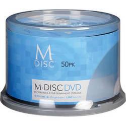 M-DISC  DVD-R Discs (50-Pack)