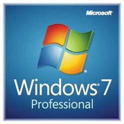 Microsoft Windows 7 Professional with Service Pack 1 (64-Bit, (OEM DVD)