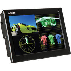 "ikan D7-2 7"" 3G-SDI/HDMI Field Monitor w/Waveform & Canon LP-E6, Nikon EN-EL 15, Panasonic G6 Battery Plates"