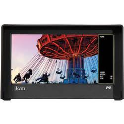 "ikan VH8-2 8"" HDMI Monitor with HD Panel and Canon E6, Nikon EL15, Panasonic G6 Type Battery Plates"