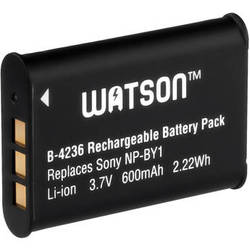 Watson Watson NP-BY1 Lithium-Ion Battery (3.7V, 600mAh)