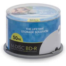 M-DISC Inkjet Printable BD-R Discs (50-Pack)