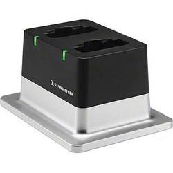 Sennheiser CHG 2 2-Bay Table Top Charger w/ US Power Supply for Sennheiser Wireless D1 Series