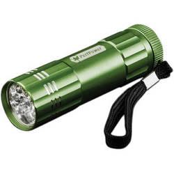 Go Green 9 LED Flashlight (Dark Green)