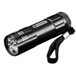 Go Green 9 LED Flashlight (Black)