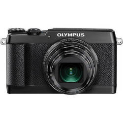 Olympus Stylus SH-2 Digital Camera (Black)