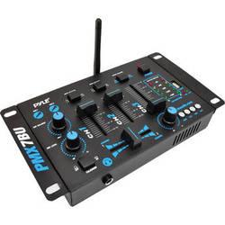 Pyle Pro PMX7BU Compact Bluetooth DJ Mixer (3-Channel)
