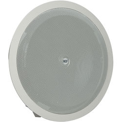 """RCF 2-Way 8"""" Woofer & 1"""" Tweeter Coaxial Flush Mount Ceiling Speaker (20W, 8 Ohms, 100V/70V, IP44 Rated)"""