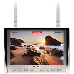 """LILLIPUT 339/DW 7"""" FPV Monitor with Dual Built-in 5.8GHz Wireless Receiver (White)"""