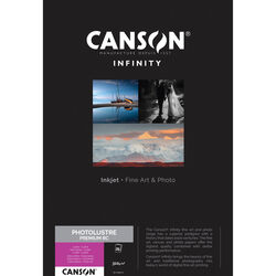 """Canson Infinity Photo Lustre Premium RC Paper (17 x 22"""", 25 Sheets)"""