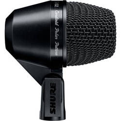 Shure PGA52-XLR Cardioid Dynamic Kick Drum Microphone with Cable (15')