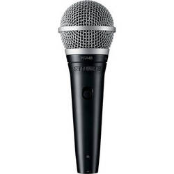 Shure PGA48 Dynamic Vocal Microphone (No Cable)