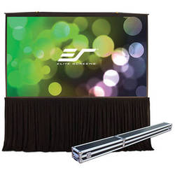 Elite Screens QuickStand 5-Second QS150HD Projection Screen