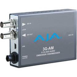 AJA 3G-AM 3G-SDI 8-Channel AES Audio Embedder/Disembedder Mini-Converter